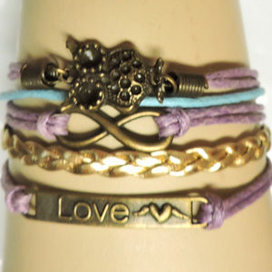 Multi strands, colors, and charms